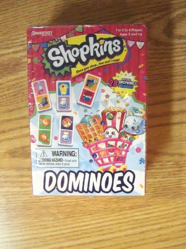 New Shopkins Dominoes - $15