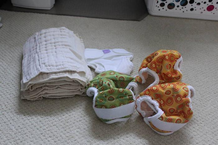Newborn Cloth Diaper Stash