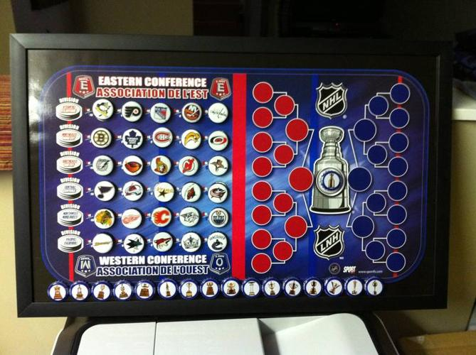 Nhl Standings Playoff Tree Magnet Board For Sale In North