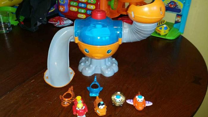 Octonauts octopod with accessories