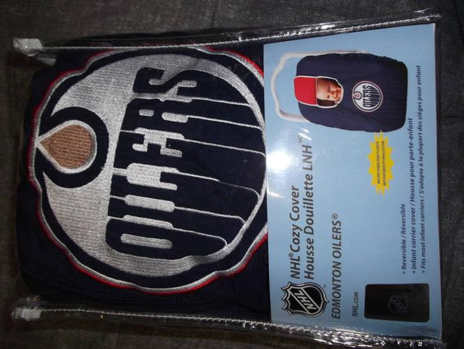 Oilers Car Seat Cover for sale in Sylvan Lake, Alberta - Baby is Coming