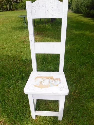 old fashioned childs chair