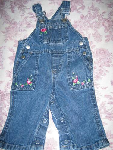 Old Navy Overalls - 3-6 months