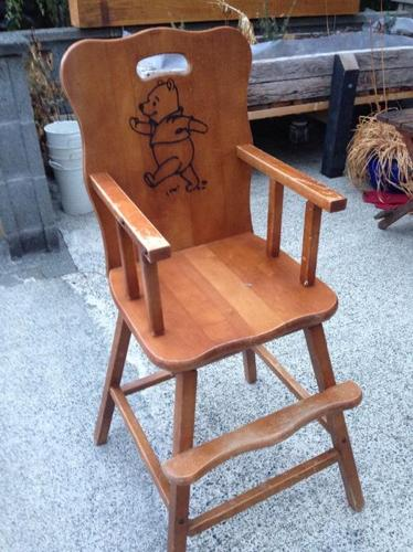 older high chair