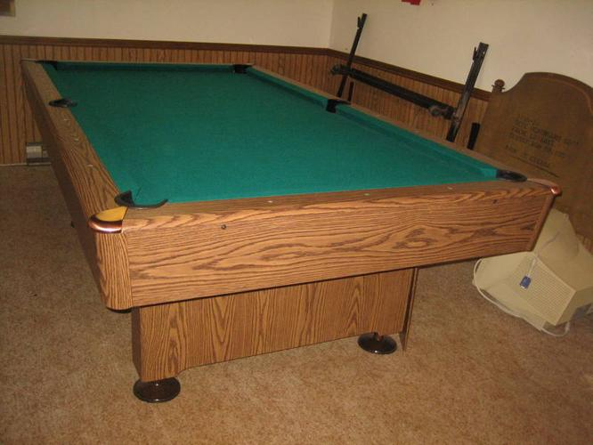 OLIO Slate X Pool Table Almost New For Sale In Kitchener - Olio pool table