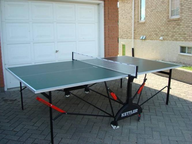 Ping Pong Table Table Tennis By Kettler For Sale In