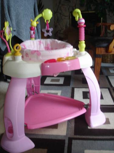 e8858fb34263 Pink Bright Starts Exersaucer for sale in Salmon Arm
