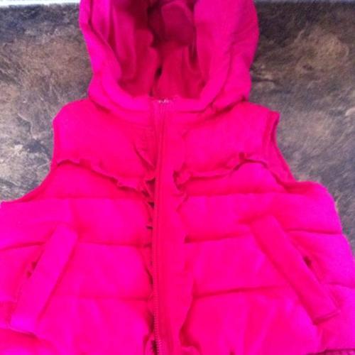 Pink Vest (Old Navy)