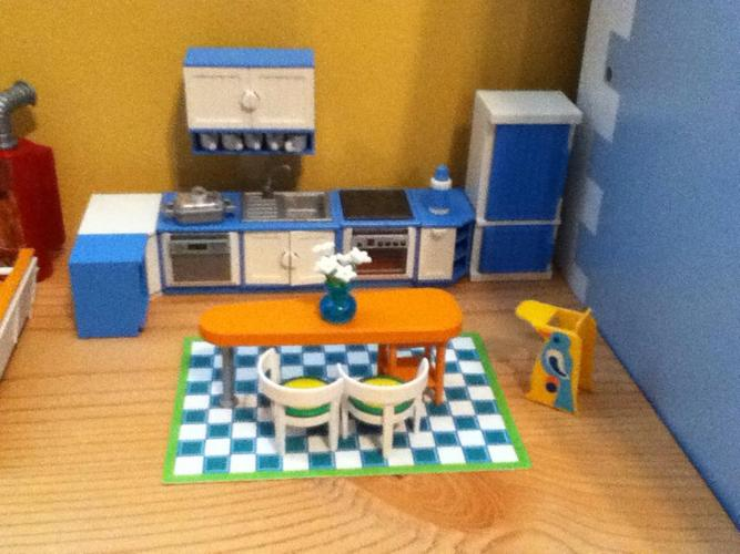 Playmobil home furnishings for 5 rooms