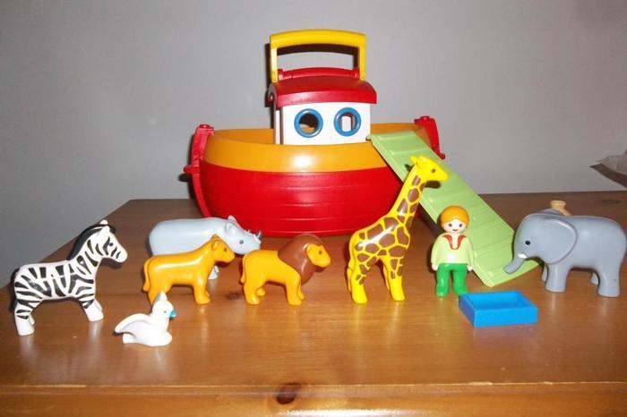 Playmobil My Take Along 1.2.3 Noah's Ark *Incomplete*
