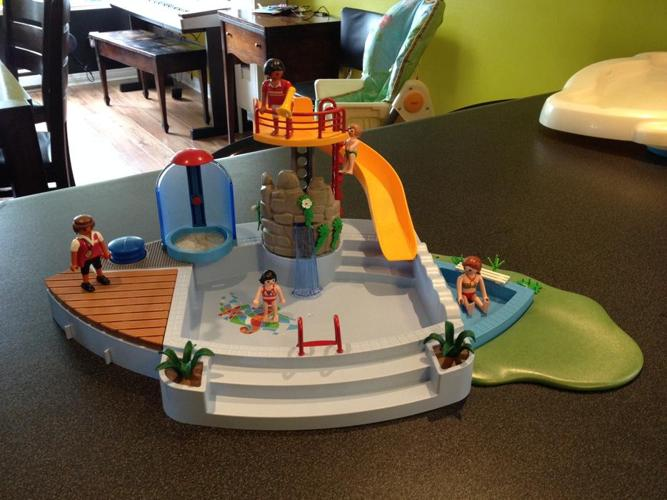 Playmobil Pool with Slide and Shower
