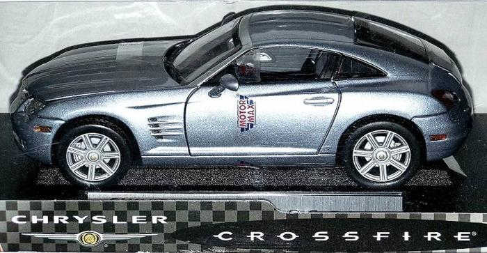 PLYMOUTH CROSSFIRE DIECAST CARS