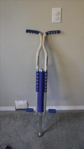 Pogo Stick:  Flybar Master.  Hardly used