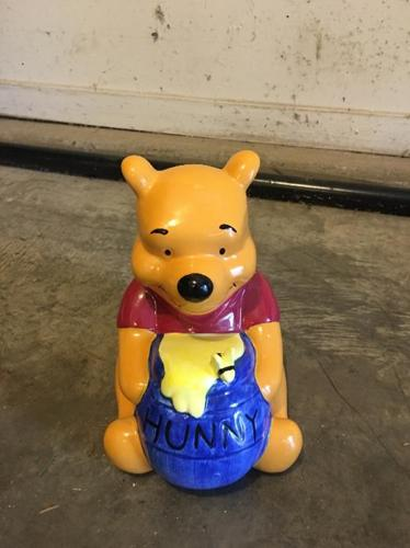 pooh bear piggy bank