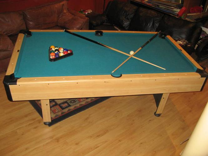 Pool Table Ft X Ft Cooper MINT CONDITION For Sale In - Buckhorn pool table