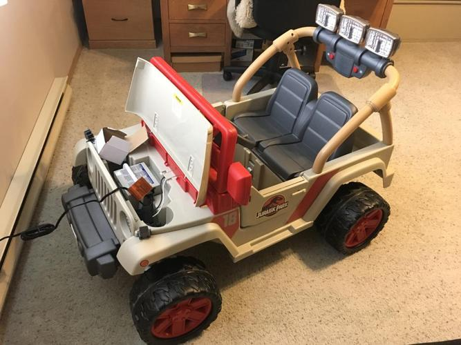 Power wheel Jeep