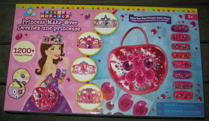 Princess Sticky Mosaic Projects Brand NEW Factory Sealed BNIP