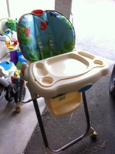 Rainforest High Chair & Rainforest High Chair for sale in Chase British Columbia - Baby is ...