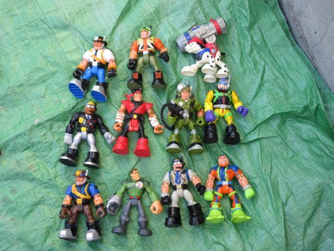 Rescue Rangers lot 11 pieces (Tyler)