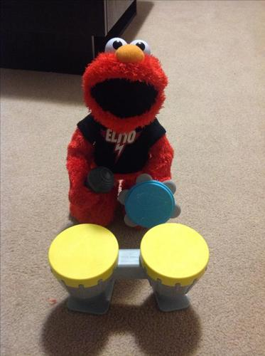 Rock n roll elmo
