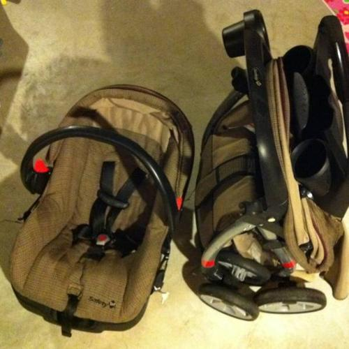 Safety first Car Seat and Matching Stroller