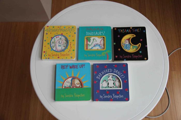 Sandra Boynton Books - Set of 5 (Hardcovers)