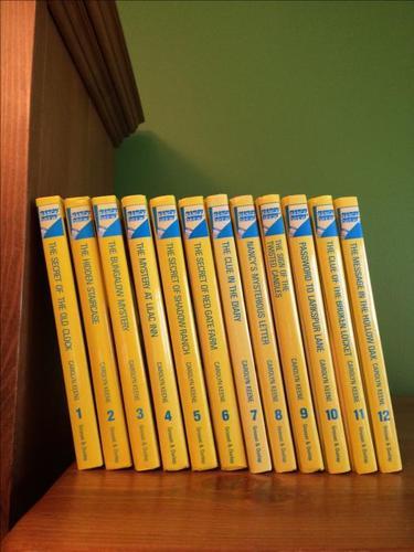 Set of 12 Nancy Drew books