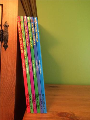 Set of 6 Launch Pad Library books
