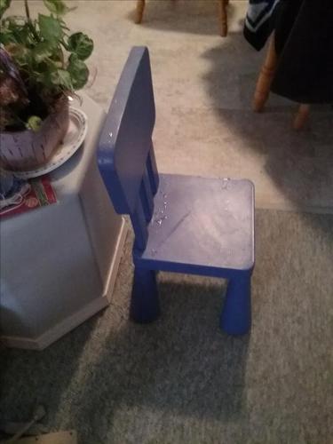 Small ikea chair
