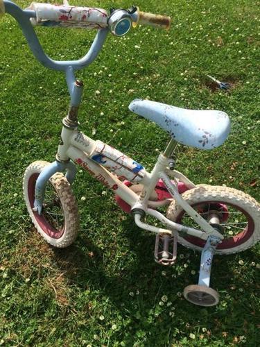 snow white bike