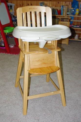 Solid Wood Eddie Bauer High Chair