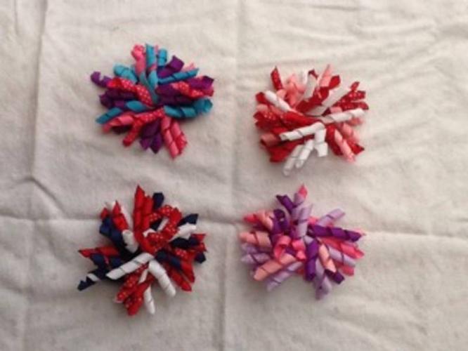 Spiral hair clips