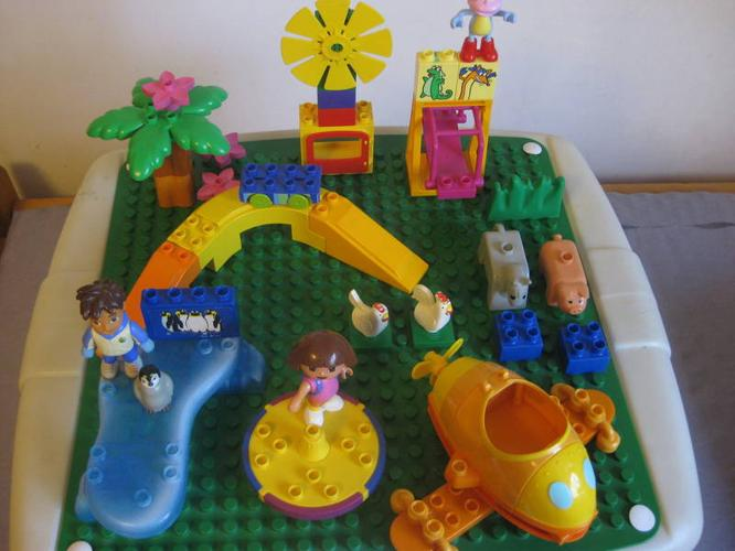Step 2 Lego Duplo Table + Blocks for sale in Delta, British ...