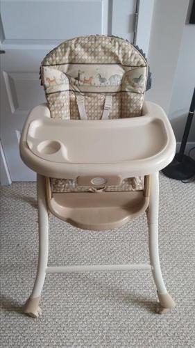 Summer Brand Reversible High Chair & Bassinet