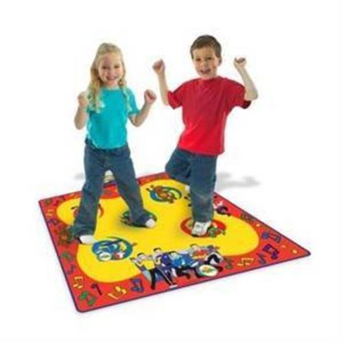 the wiggles wiggle and giggle dance mat - exercise but fun!