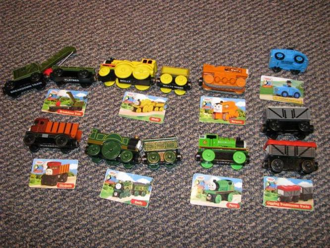 Thomas the Train wooden engines etc....make us an offer!!