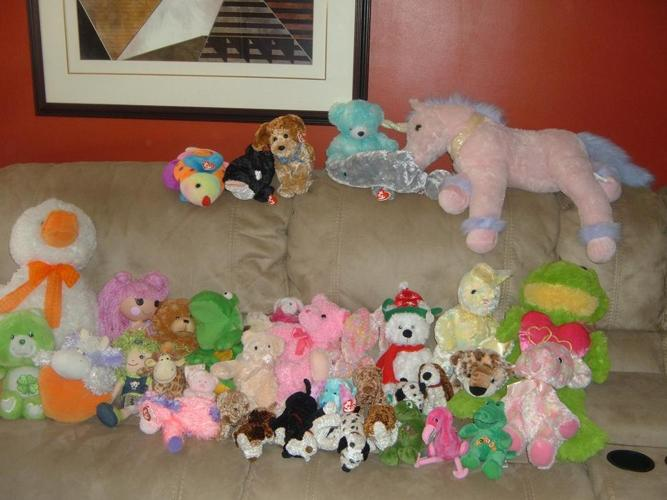 TY STUFFED ANIMALS AND OTHERS