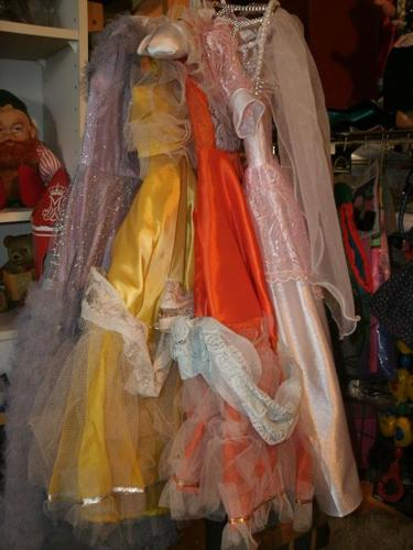 "Vintage Dolls clothes - Dolls vintage Dresses sizes 18"" /24"""