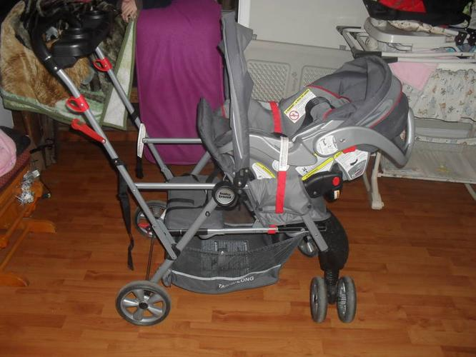 Wanted: DOUBLE STROLLER INFANT/TODDLER (front/rear faceing)