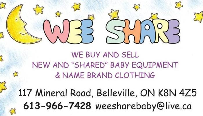 Wee Share Gently Used Baby Equipment And Name Brand Clothing For