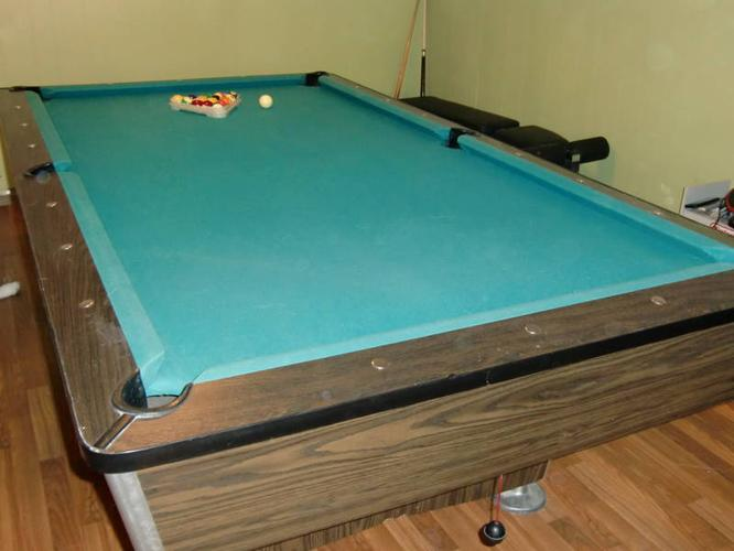 Westerner slate pool table for sale in prince george for 1 slate pool table