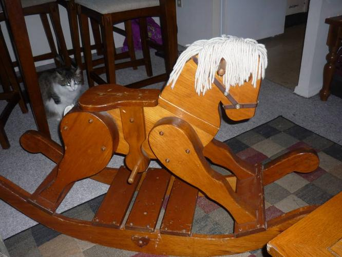 wooden rocking horse for sale obo for sale in brantford ontario baby is coming. Black Bedroom Furniture Sets. Home Design Ideas