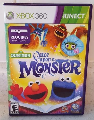 Xbox 360 Game - Sesame Street: Once Upon a Monster