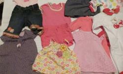 size 0 to 6 months baby clothes. Gently used, some of them are new, different brands. Best offer!