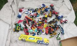 100 misc cars/trucks (box 1) - $20