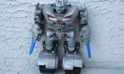 11 inch Transformers Sideswipe with working sounds