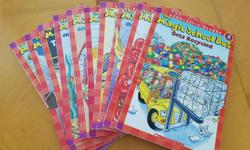 11 magic school bus reader books, level 2. Great condition. You can see the titles in the second picture.