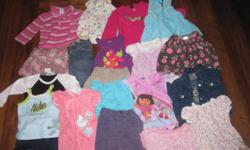 Big bag of 12-18 month clothes. Lots of brand names...over 50 items. Smoke free home.