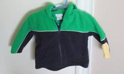 Sears baby brand hooded coat     Hooded Zip front Perfect for Fall and Spring weather warm fleece smoke free home   If you see this ad it is still available. I can deliver to Kitchener or Woodstock.  See my other ads for more gently used kids clothes and