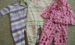 12 month lot of girl clothes, in good condition, smoke/pet free home, asking $10 for all or will sell individually ( 3 pajamas, 3 pants and 4 shirts)